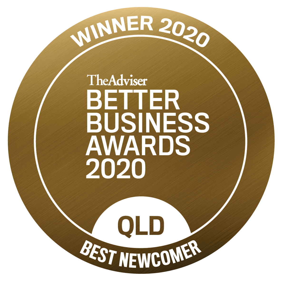 Zac Godman won the Queensland's Best Newcomer Award 2020 at the Better Business Awards