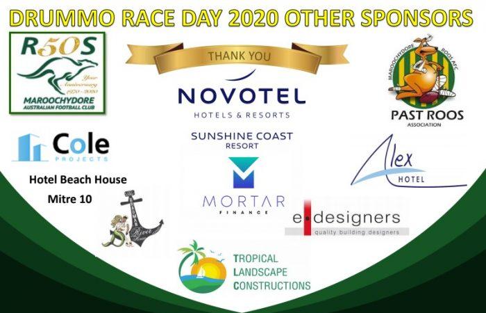 Sponsors Geoff Drummond Memorial Race Day 2020
